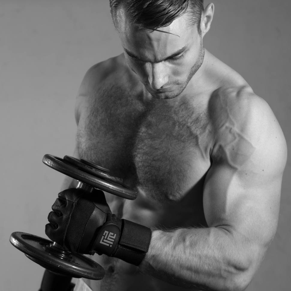Weight lifting gloves by ZLC.