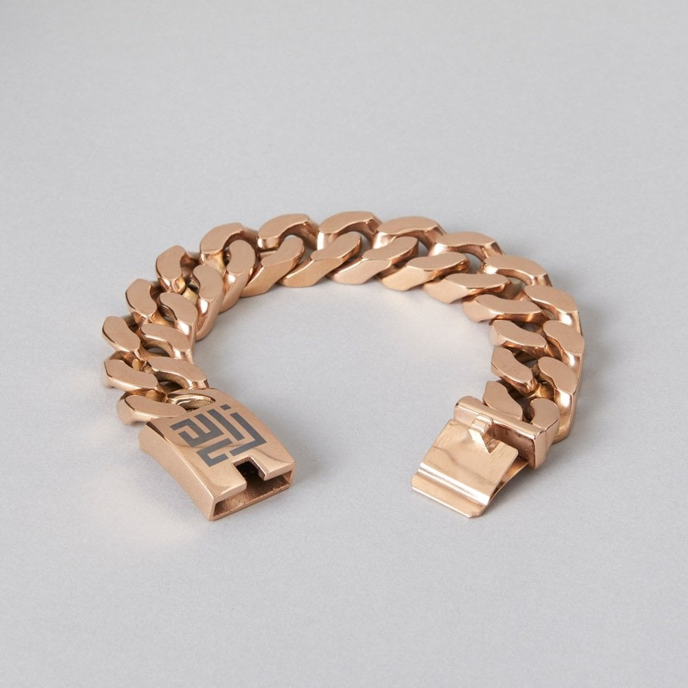 Rose gold chain bracelet by ZLC