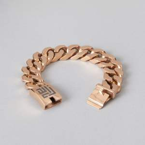Rose gold chain bracelet by ZLC