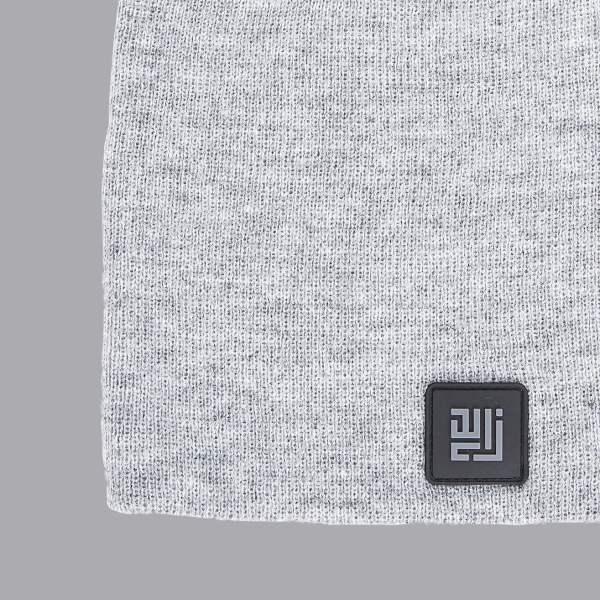 Beanie Folded by ZLC, Grey colour.