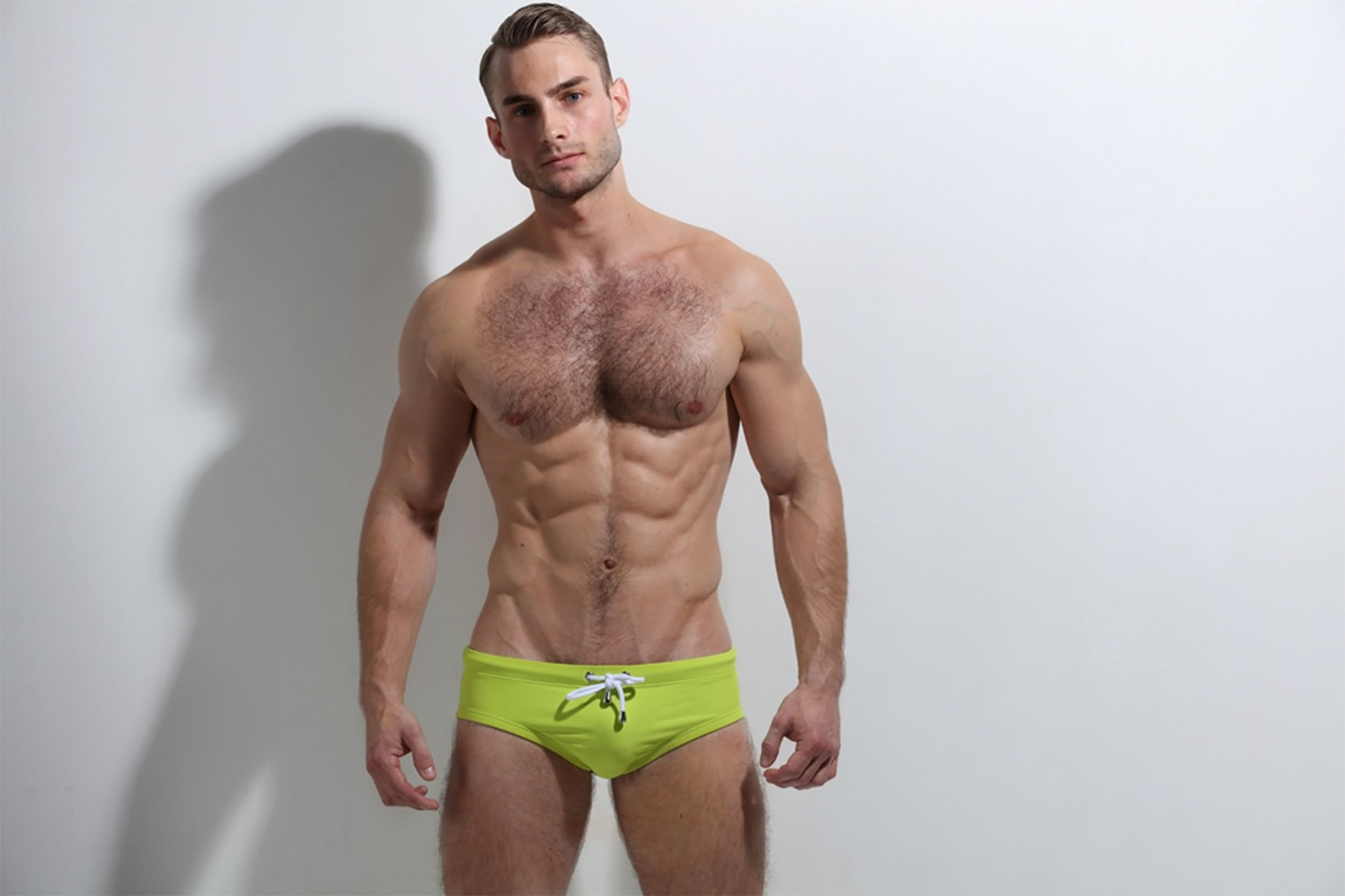 ZLC Lime Swimwear with puple lining inside Recycled and reversible
