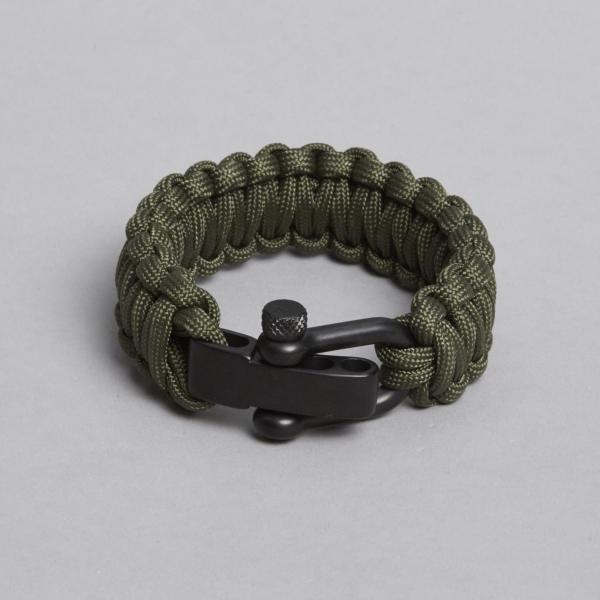 army-grøn armbånd