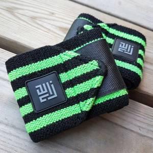 ZLC Wrist wraps grøn/sort design