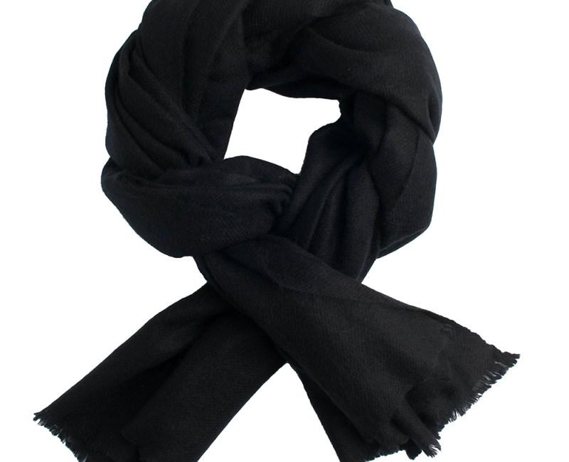 pashmina shawl black