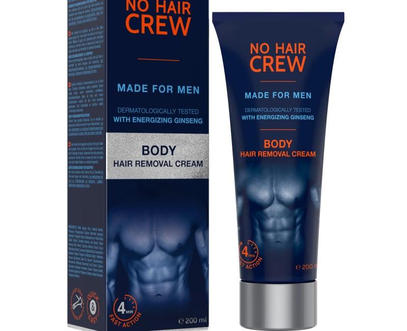 Body hair removal cream