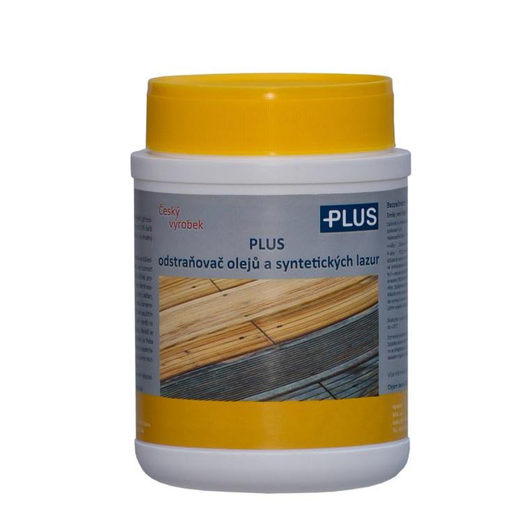 PLUS odstraňovač olejů a syntetických lazur ze dřeva