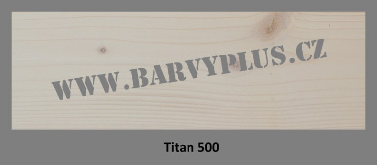Barvy PLUS vzorník W-Olej TITAN 500