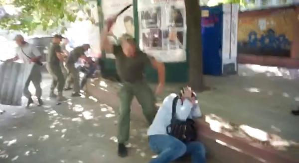 Нападение на главного редактора газеты «Нераскрытые преступления»