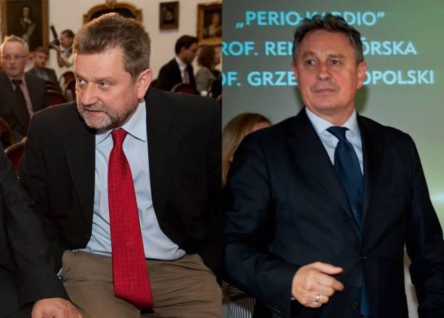 Jarosław Pinkas i Andrzej Włodarczyk