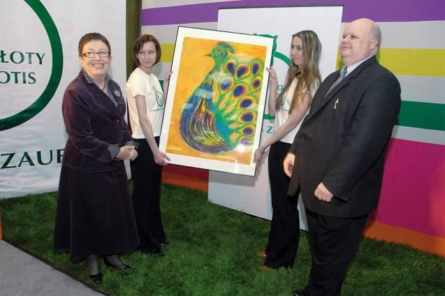 Aukcja obrazów malowanych przez osoby chore na schizofrenię (2007)