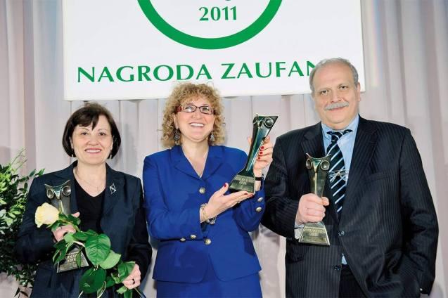 Amazonki zGruzji zprof. Rema Gvamichava – laureaci VI Międzynarodowej Nagrody Zaufania 2011