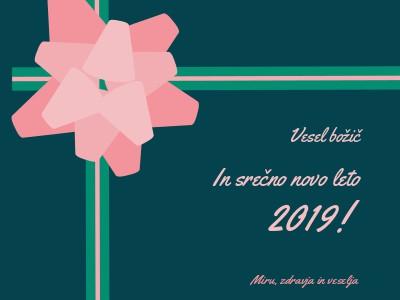 božična voščila in novo leto 2019