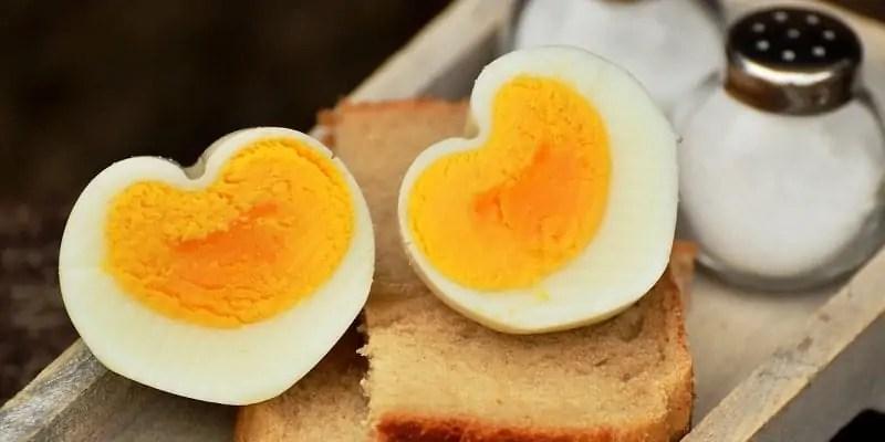 trdo kuhano jajce