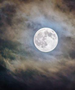 סיור לירח בעברית