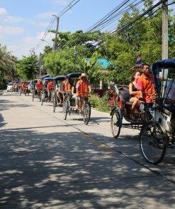 סיור ריקשה בבנגקוק