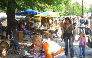 שוק הפשפשים ב-ארקונה פלאץ