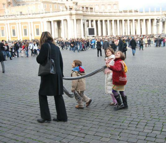 רומא עם ילדים