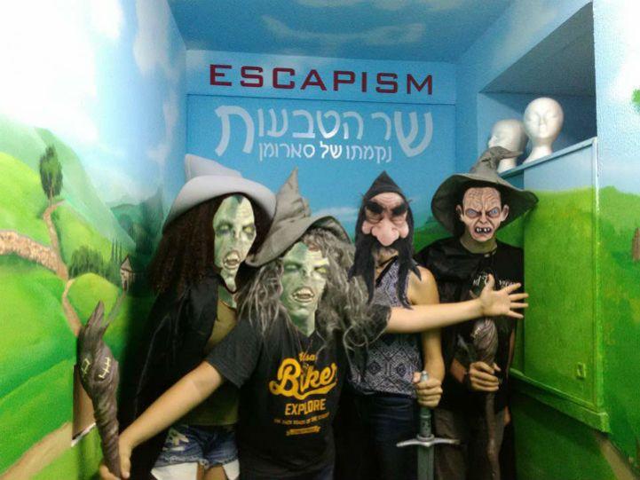 אסקפיזם, חדר בריחה בתל אביב