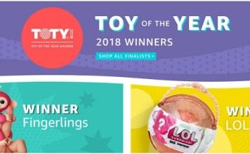 צעצוע השנה 2018 באמזון