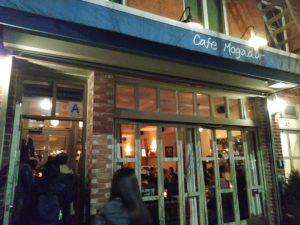 קפה מוגדור, ניו יורק