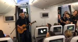 דני רובס בטיסה ללונדון
