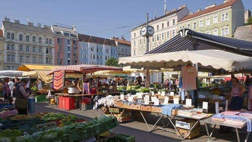 איזור Karmelitermarkt ברובע השני