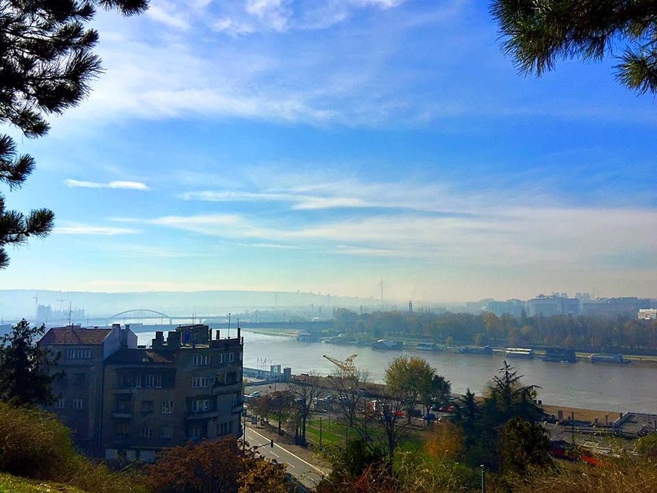 מבט על העיר בלגרד מגני המצודה