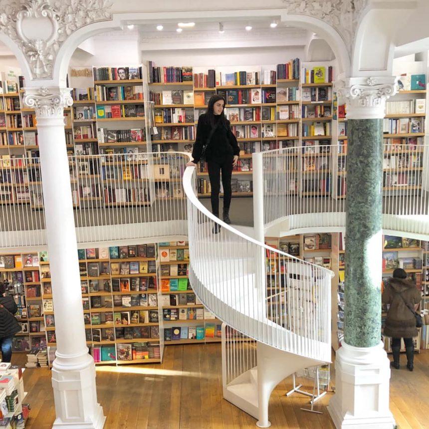 חנות ספרים בבוקרשט