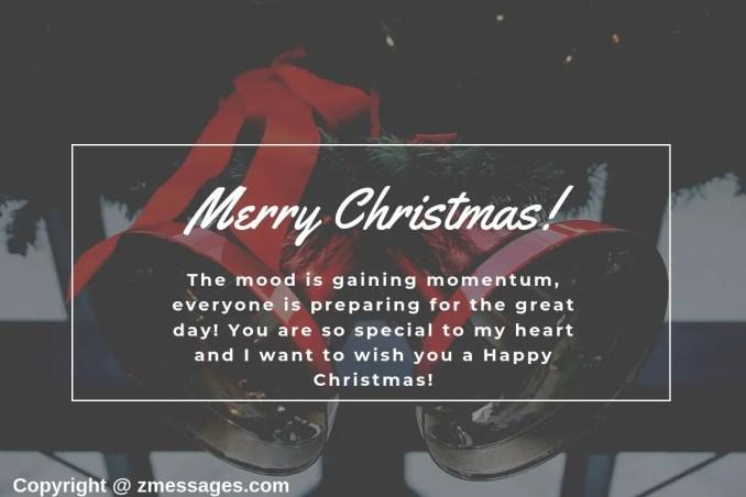 Christmas greetings message