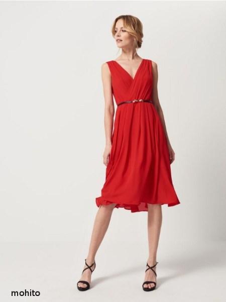 rochie rosie mohito