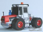 Papercraft imprimible y armable del tractor Liaz ST-180. Manualidades a Raudales.