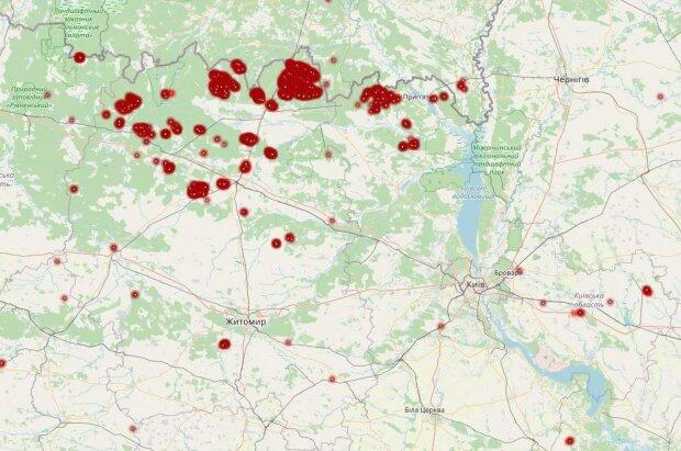 Карта: ДСНС