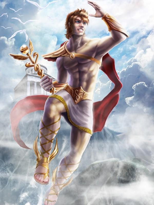 уже древнегреческий бог гермес картинки говяжий бульон