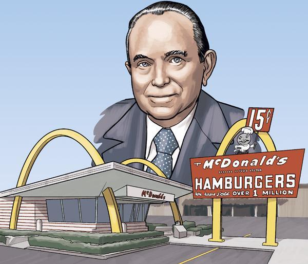 Рэй Крок - основатель империи Макдоналдс: история успеха, биография