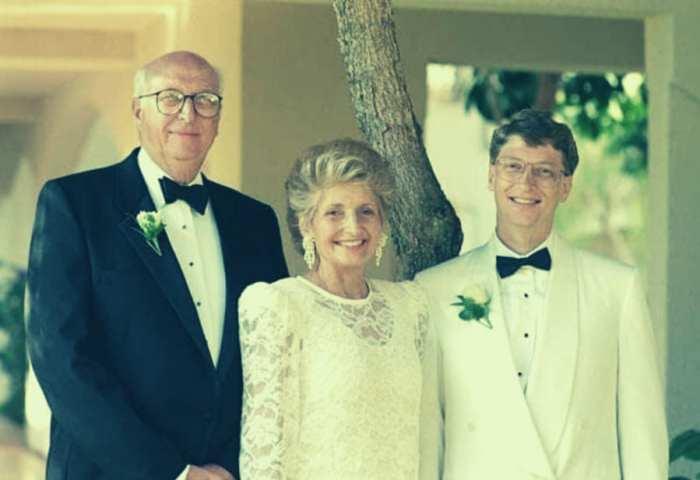 Факт №1: Билл Гейтс родом из богатой семьи