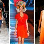 Все оттенки оранжевого в одежде