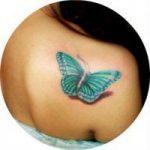 Популярные объемные женские 3d татуировки