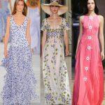 Самые красивые длинные летние платья