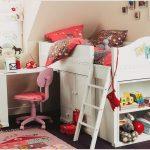 Кровать-чердак для девочки — модельный ряд и правила выбора