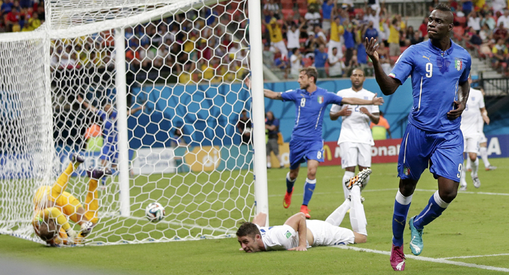 FIFA World Cup 2014: Balotelli shines as Rooney`s prowess wasted at left flank