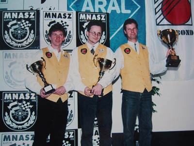 1997 was a good season. i finished runner-up in the national raid championship.
