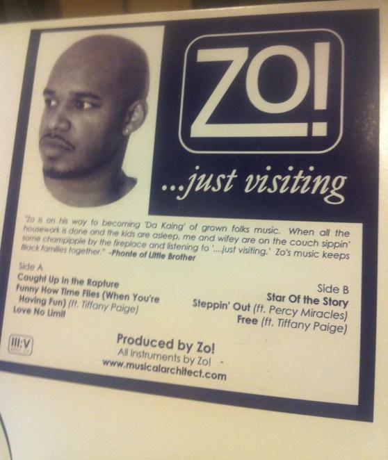 ...just visiting (2006) Vinyl