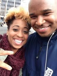 With Monica Blaire in Alexandria, VA