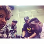 Carmen, AD, me and Phonte in Detroit