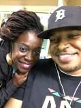 With Tamisha Waden