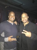 With Finesse Mitchell in ATL