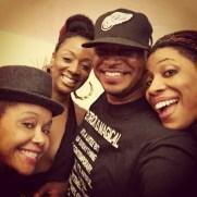 Joi, Sy, me and Carmen in LA