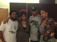 Daz-I-Kue, Carmen, me and Monica Blaire in ATL