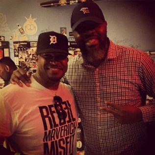 Me and Celtics Assistant Coach and former player, Walter McCarty in Boston, MA • 05.17.16