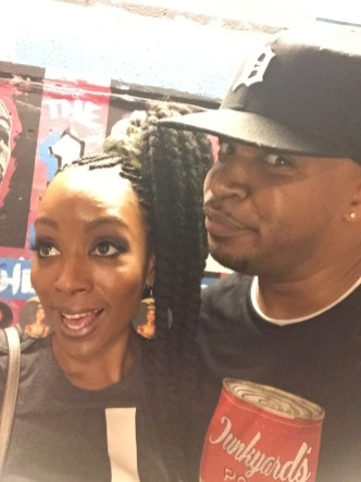 Me and Sy Smith in DC • 05.19.16